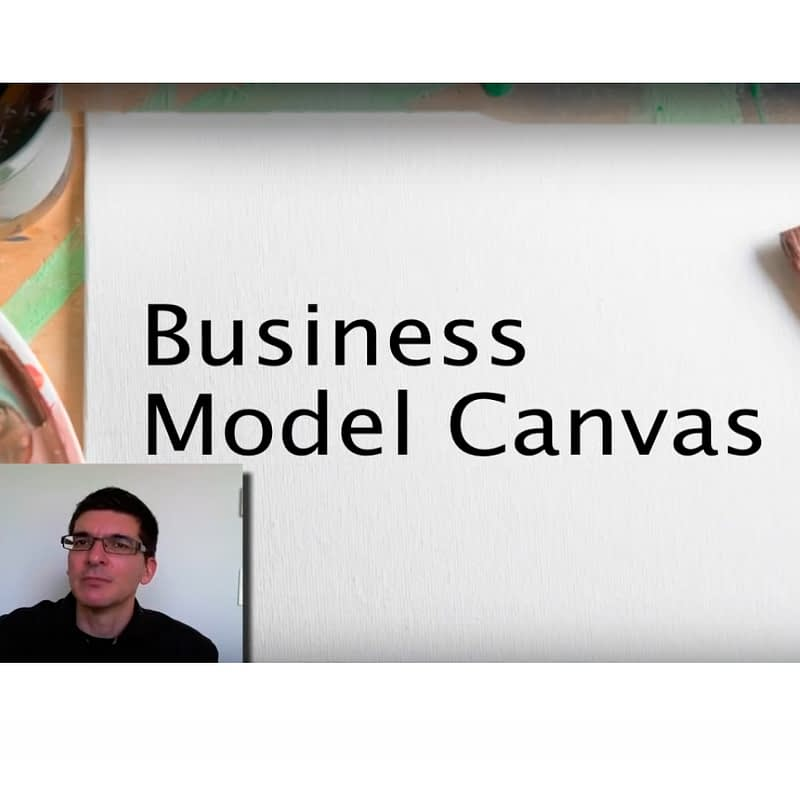 Osterwalder explaining the Business Model Canvas in 6 Minutes (Video)