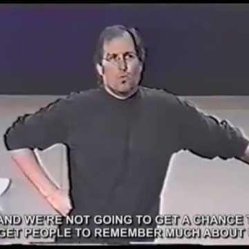 Best marketing strategy ever, Steve Jobs (Video)