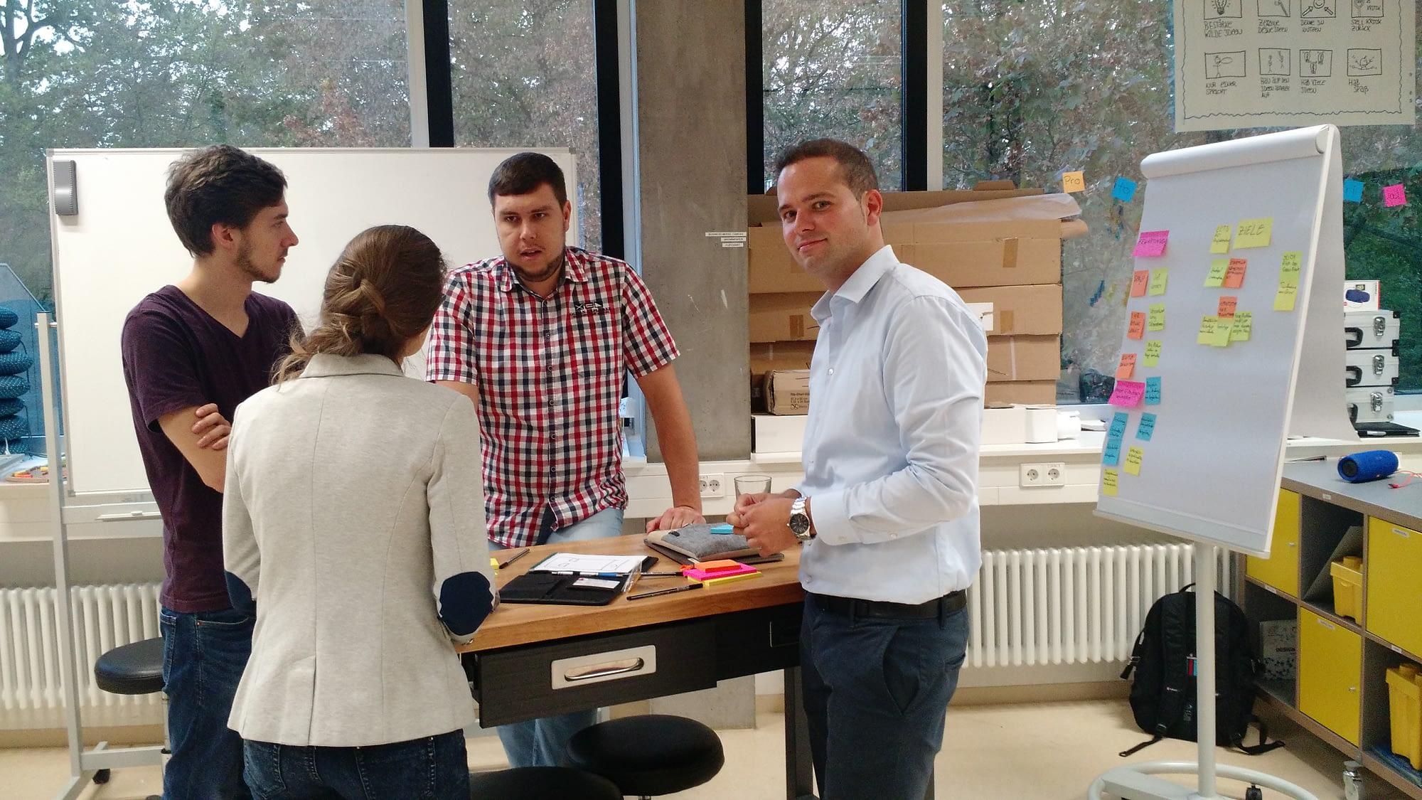 Hybrides Lernen: Lehrkonzept bringt Theorie und Praxis zum Thema Entrepreneurship zusammen