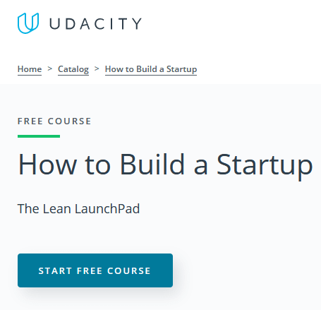 How to build a startup (Onlinekurs)