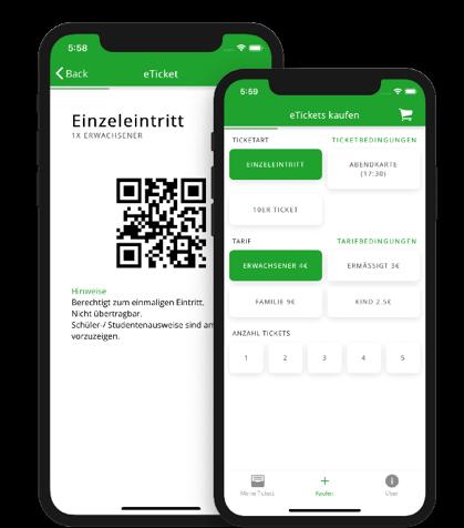 eTicket-App: Nie wieder in der Freibad-Schlange stehen!