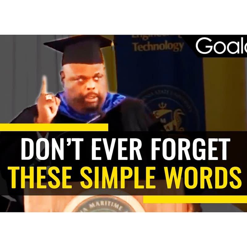 The wisdom of a third grade dropout (Video)